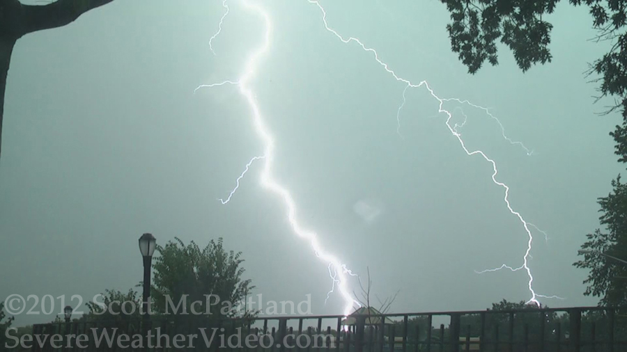 NYC lightning July 18th, 2012