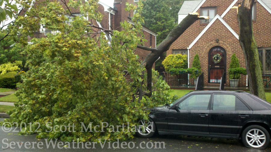 NYC storm damage 7.18.12